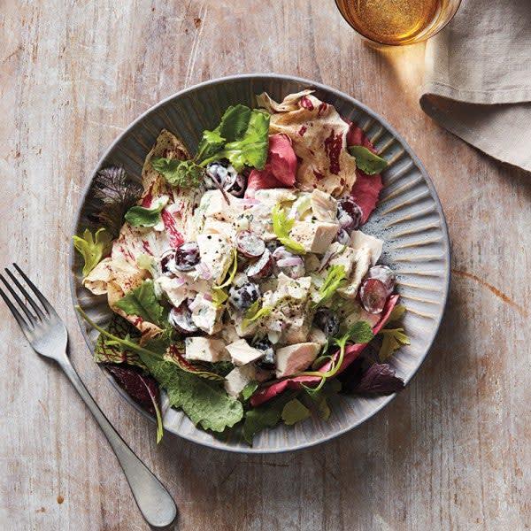 Photo de Salade au poulet et aux raisins par WW