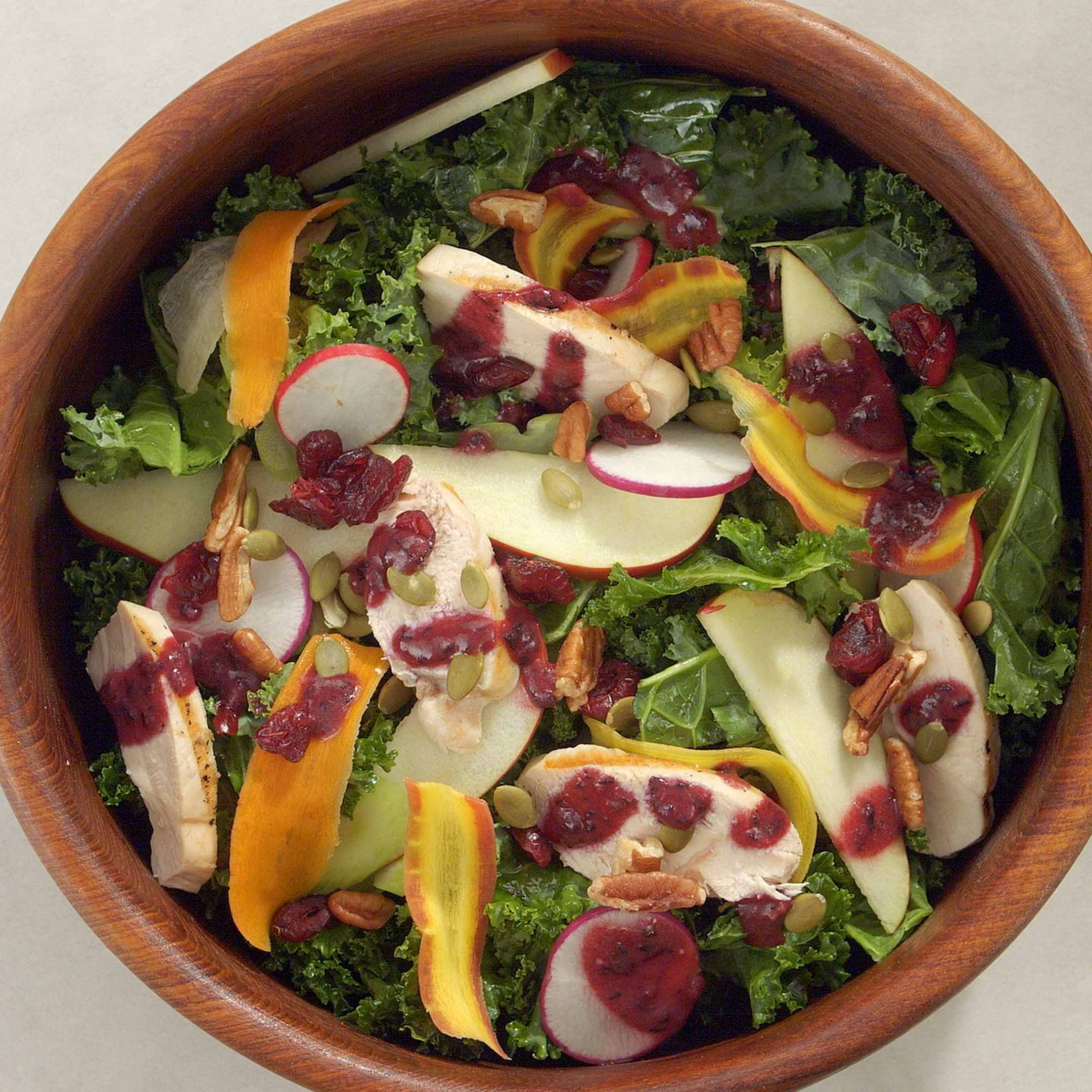 Photo of Crisp Autumn Salad with Spiced Blueberry Dressing by WW