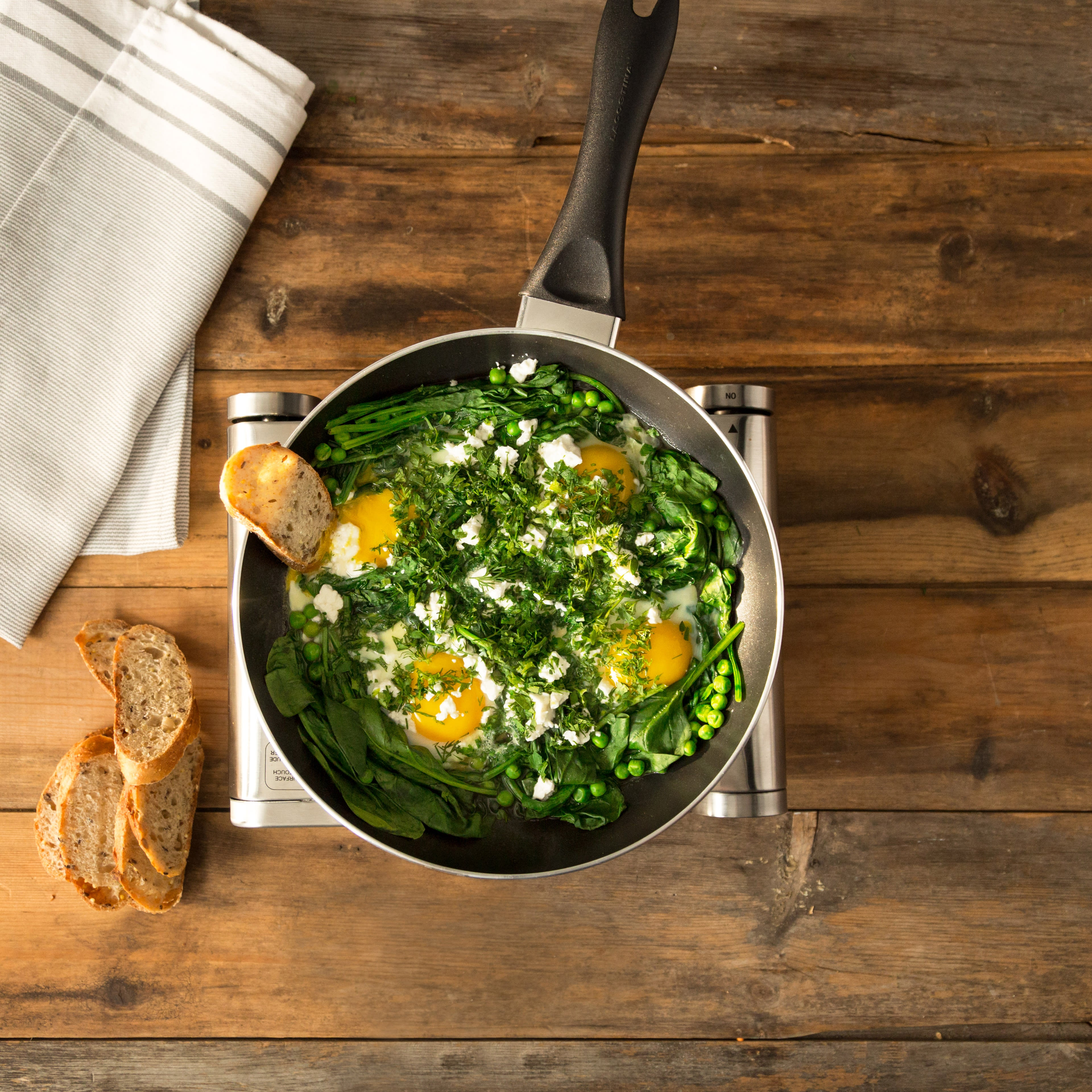 Photo of Garden Skillet Eggs by WW