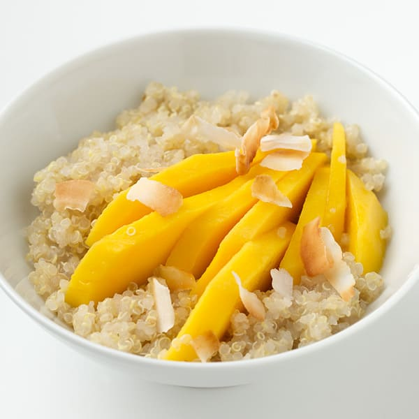 Photo of Coconut-quinoa with mango by WW
