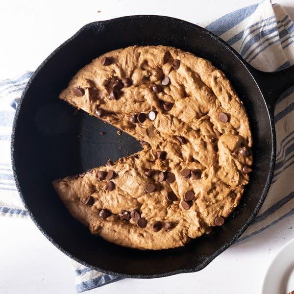 Photo de Biscuit au beurre d'arachide et aux pépites de chocolat cuits à la poêle par WW