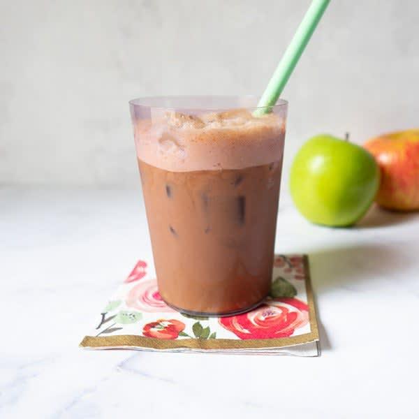 Photo de Café glacé à la tarte aux pommes par WW