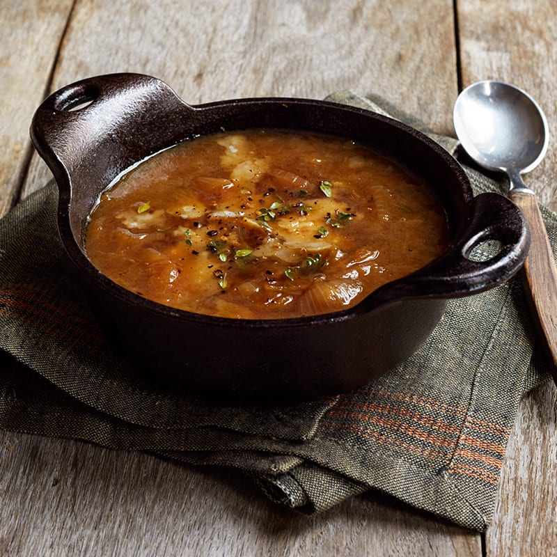 Photo de Soupe à l'oignon à la mijoteuse par WW