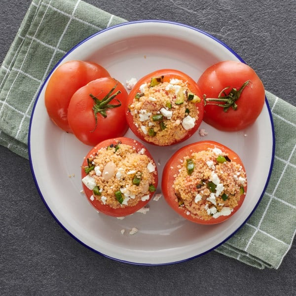 Photo of Couscous stuffed tomatoes by WW
