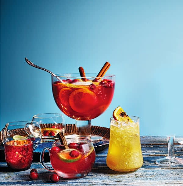 Photo of Sparkling sangria-style punch by WW