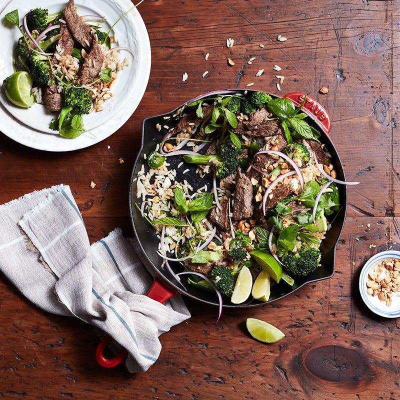 Photo de Bol de bœuf et de brocoli à la vietnamienne par WW
