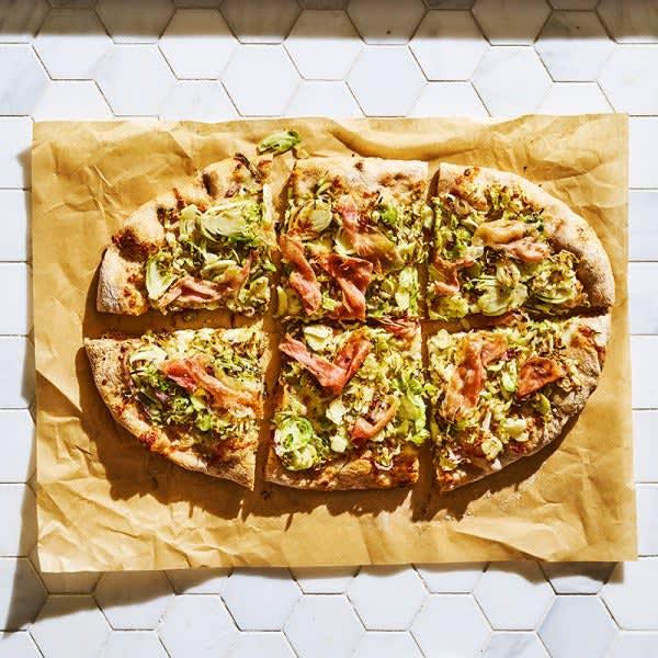 Photo de Pizza aux choux de Bruxelles et au prosciutto par WW