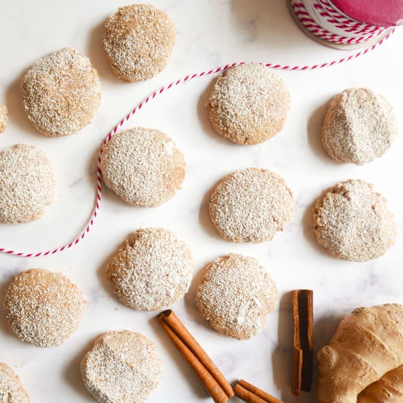 Photo de Biscuits épicés au gingembre frais par WW