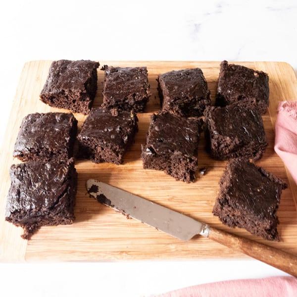 Photo of Zucchini brownies by WW
