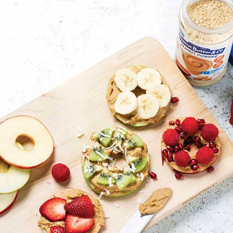 Photo of Peanut butter and apple snack rings by WW