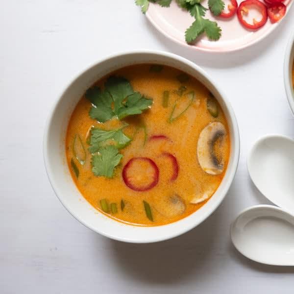 Photo of Tom Kha Gai (Thai Coconut Chicken Soup) by WW