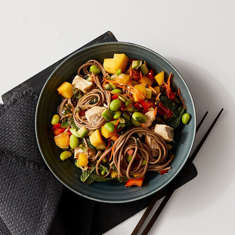 Photo of Mango, chicken and edamame salad by WW