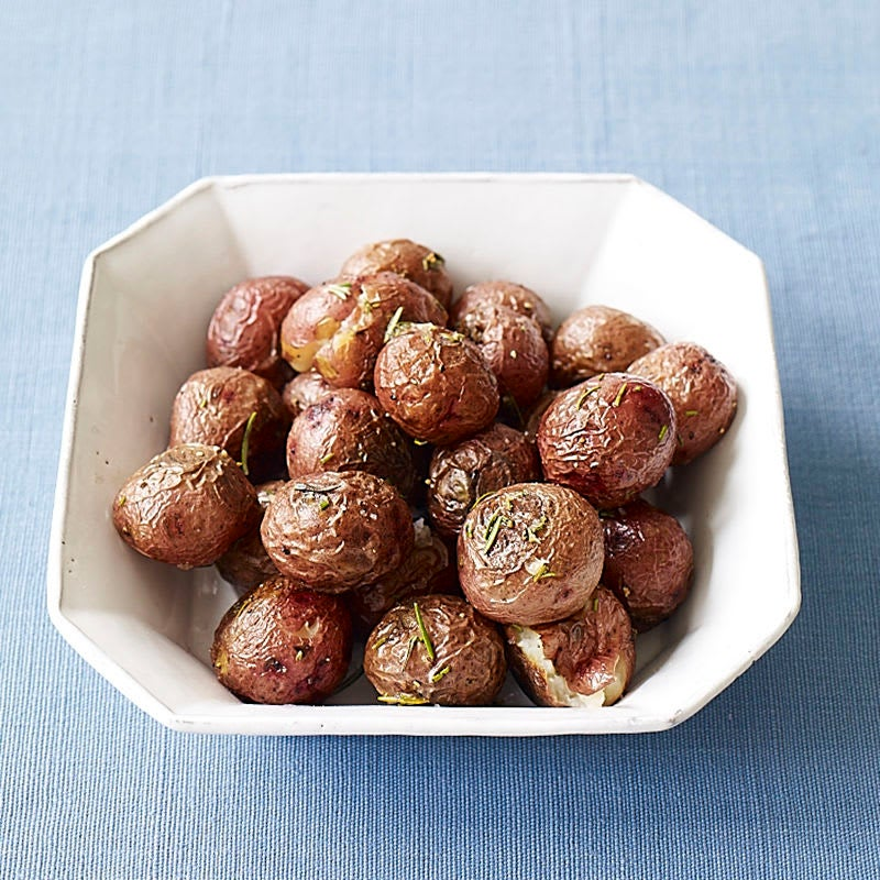 Photo of Roasted baby red potatoes with rosemary by WW