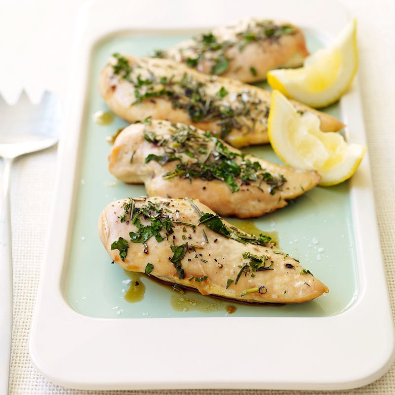 Photo of Baked Chicken with Lemon and Fresh Herbs by WW