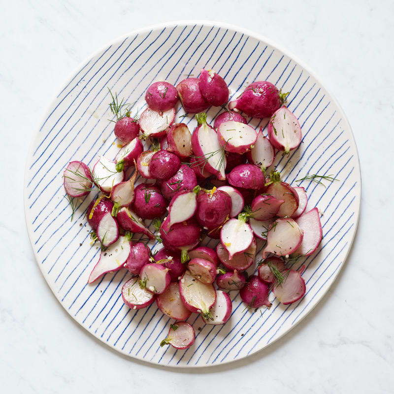 Photo of Roasted Radishes with Lemon and Dill by WW