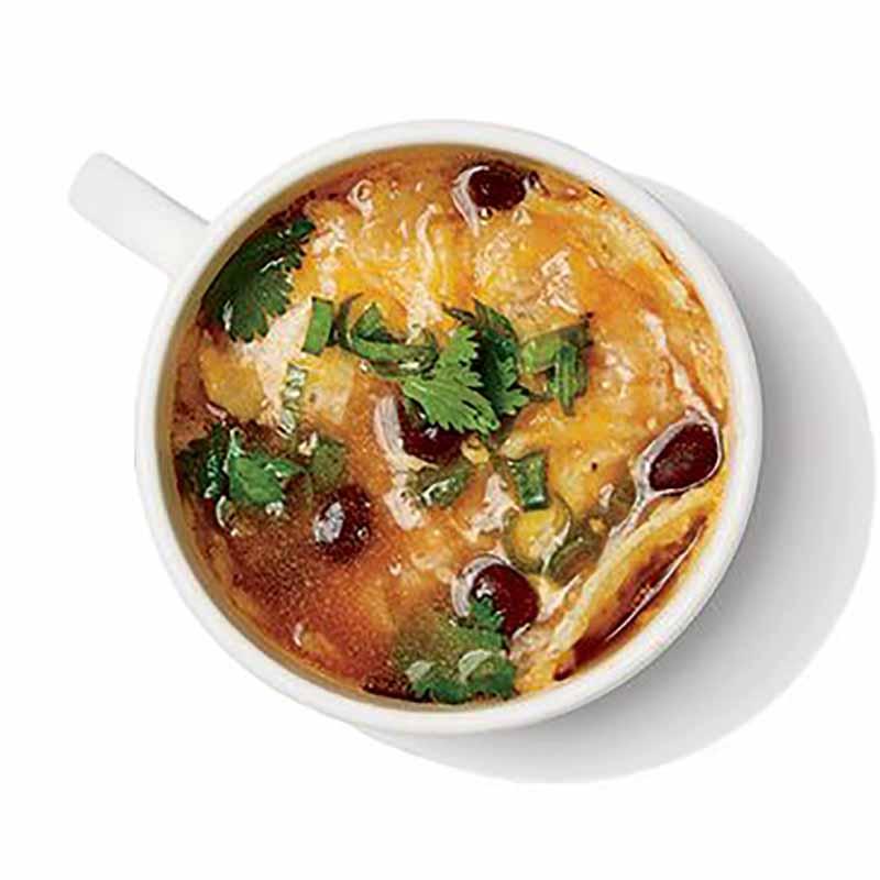 Photo of Black bean tortilla soup by WW