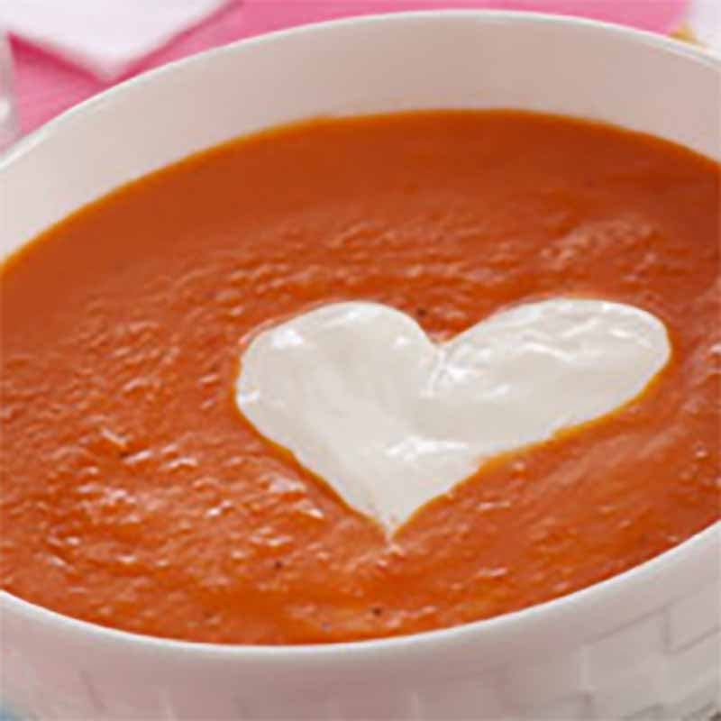 Photo of Roasted red pepper soup by WW