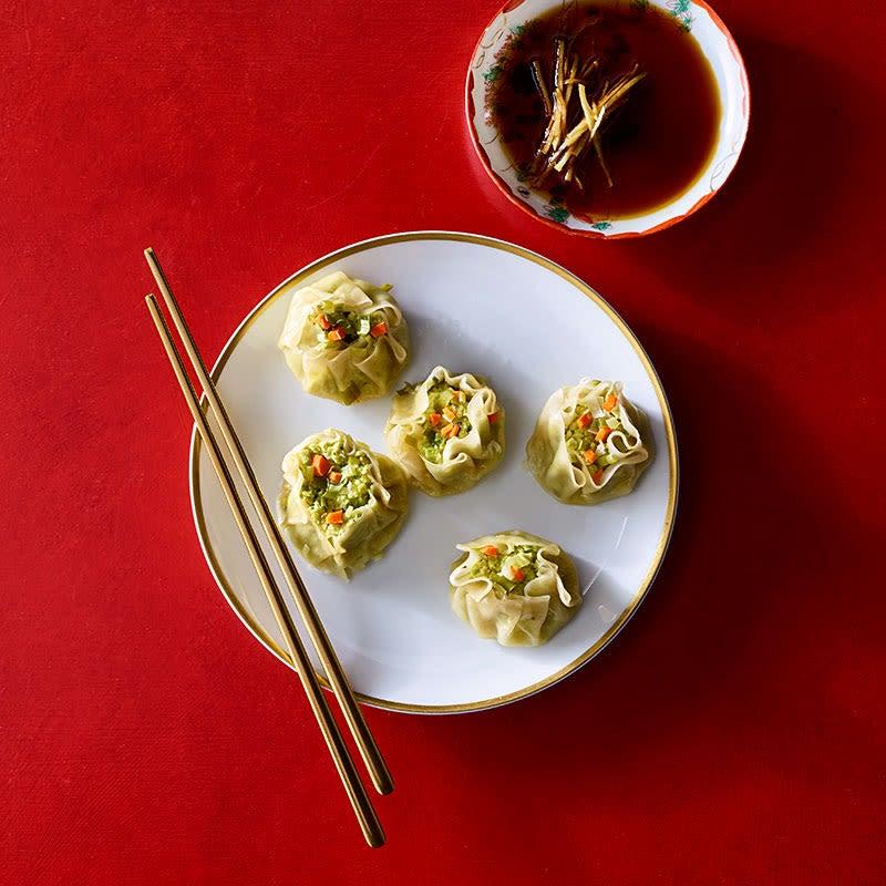 Photo de Dumplings aux edamames épicés par WW