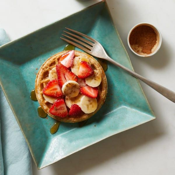 Photo of Banana berry waffle by WW
