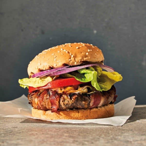 Photo de Hamburgers ultimes au fromage et au bacon par WW