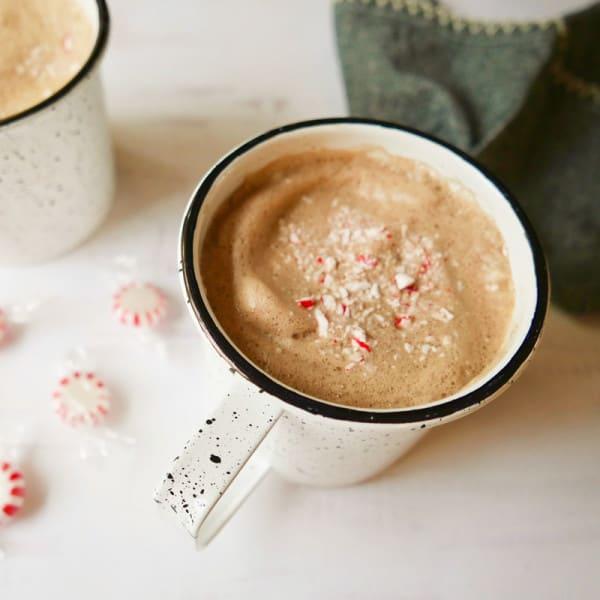 Photo of Peppermint mocha latte by WW