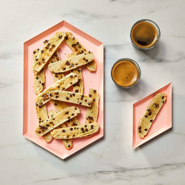 Photo de Biscottis aux grains de chocolat par WW