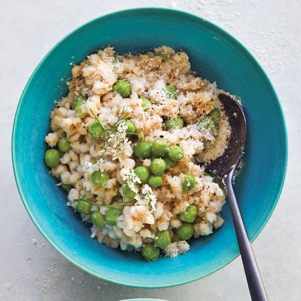 Photo of Risotto-style barley and peas by WW