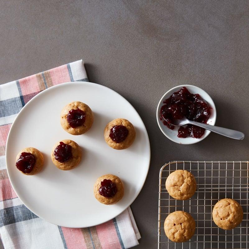 Photo de Minicupcakes au beurre d'arachide et à la gelée par WW