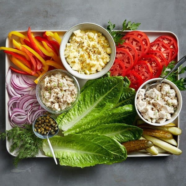 Photo of Salad picnic board by WW