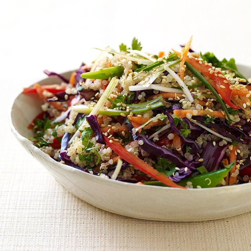 Photo de Salade de quinoa à l'orientale par WW