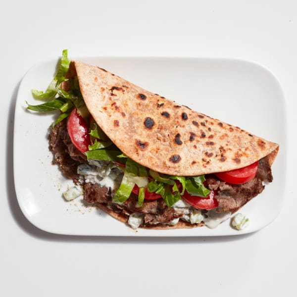 Photo of Quick beef gyro by WW
