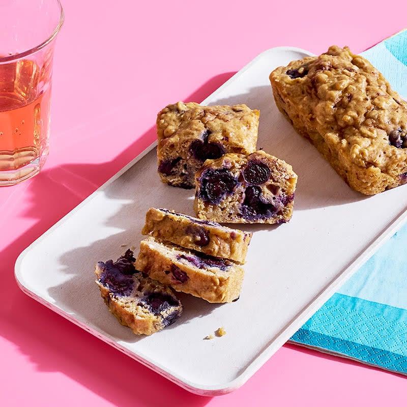 Photo of Blueberry-banana oatmeal breakfast bread by WW