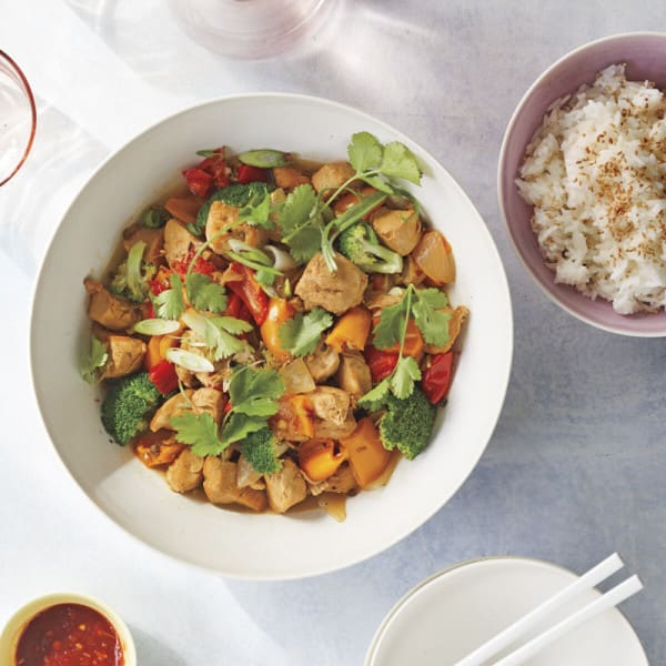 Photo of Szechuan chicken and broccoli by WW