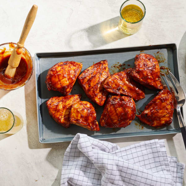 Photo of Perfectly barbecued chicken breasts by WW