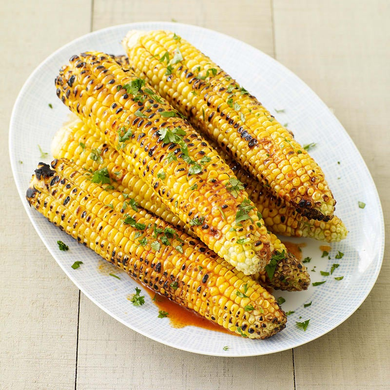 Photo of Grilled corn with smoked paprika-lime butter by WW