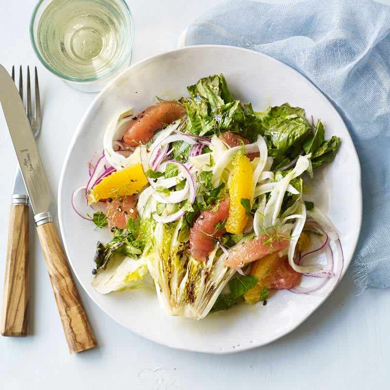 Photo of Grilled escarole salad with citrus by WW
