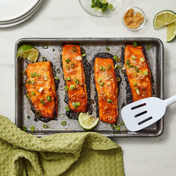 Photo of Spicy miso salmon by Daphne Oz by WW