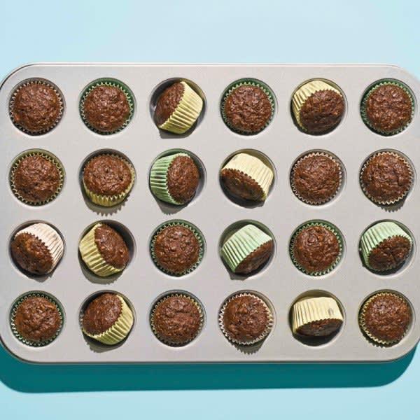 Photo of Chocolate-zucchini bread mini muffins by WW