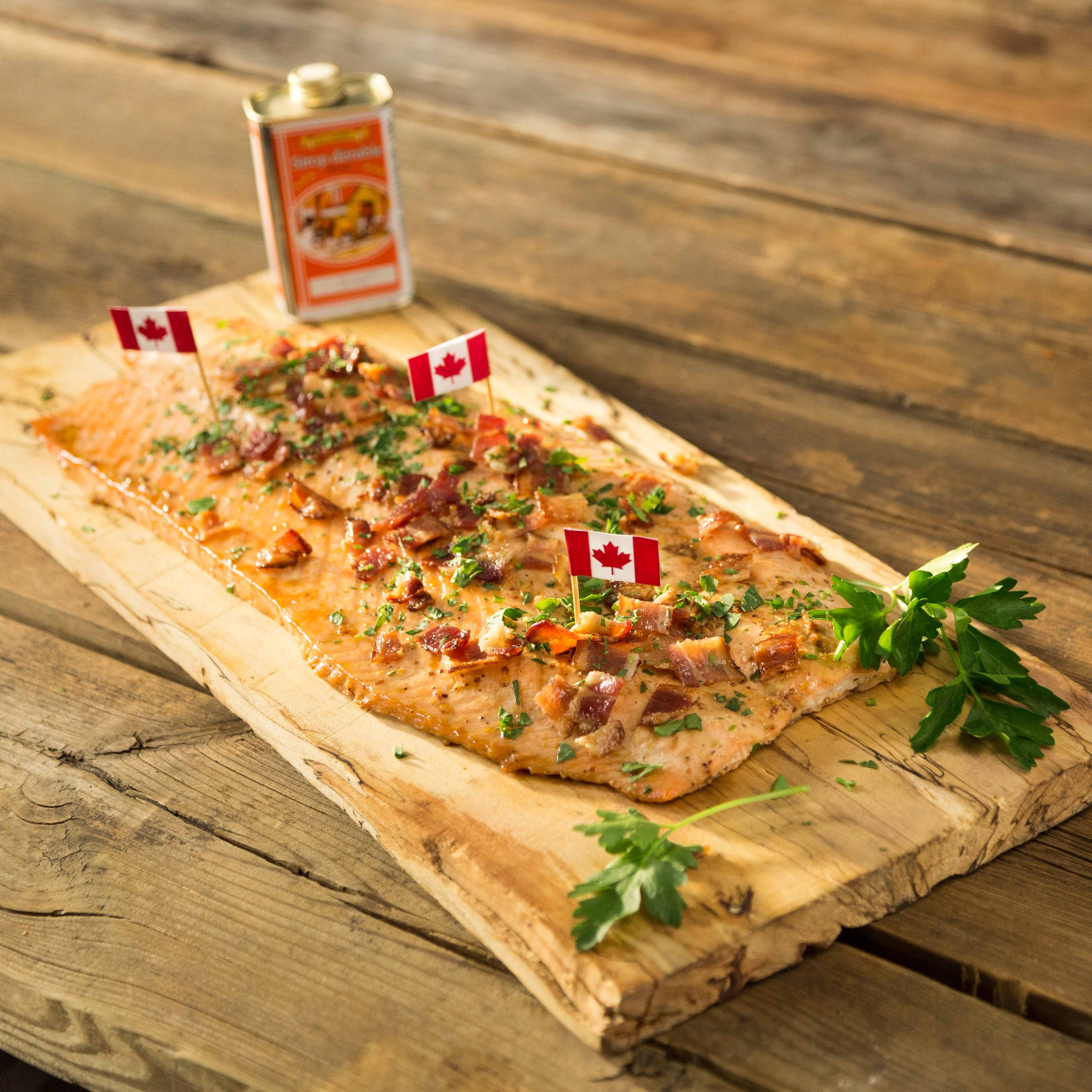 Photo of Canadian maple bacon salmon by WW