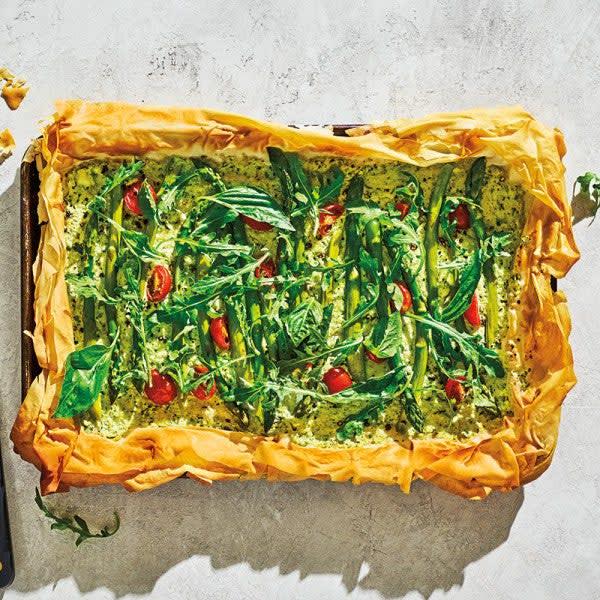 Photo de Tarte en pâte phyllo aux légumes par WW