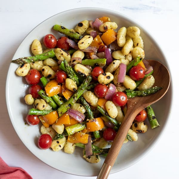 Photo of Grilled gnocchi and vegetables by WW