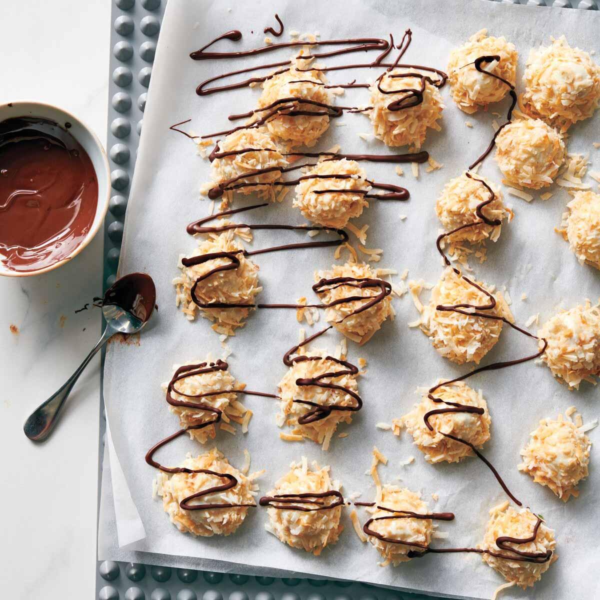Photo de Bouchées à la noix de coco et au chocolat par WW