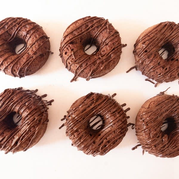 Photo of Double-chocolate donuts by WW