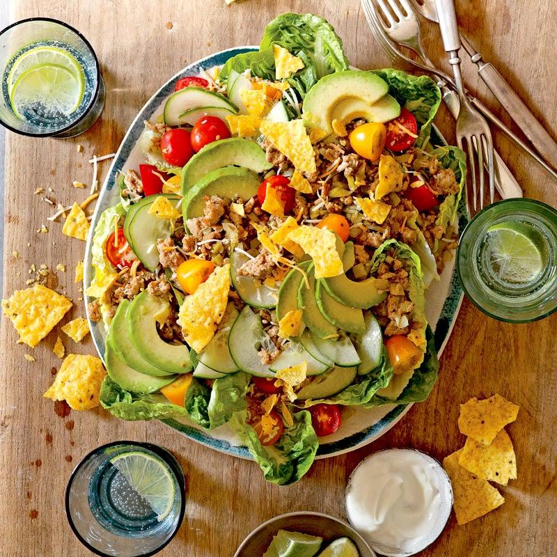 Photo de Salade taco à la dinde par WW