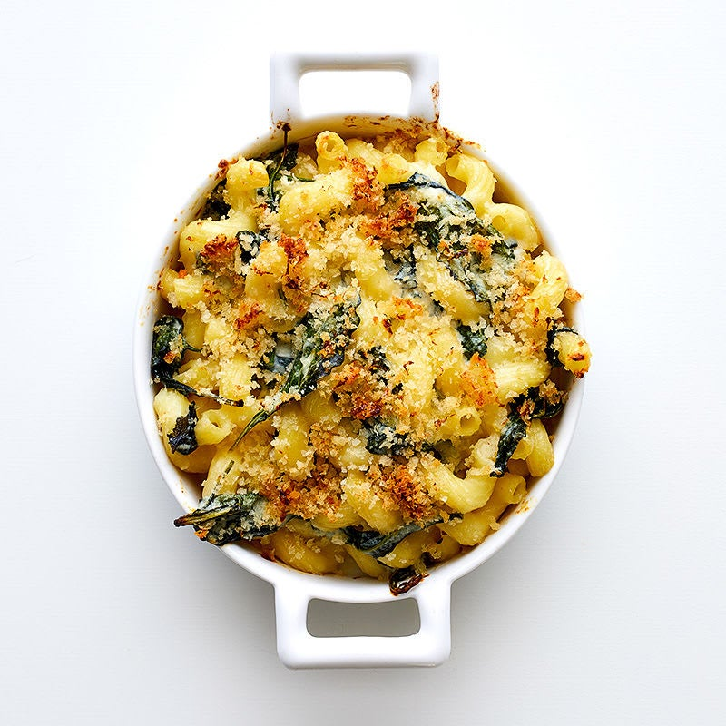 Photo of Baked pasta with goat cheese & baby kale by WW