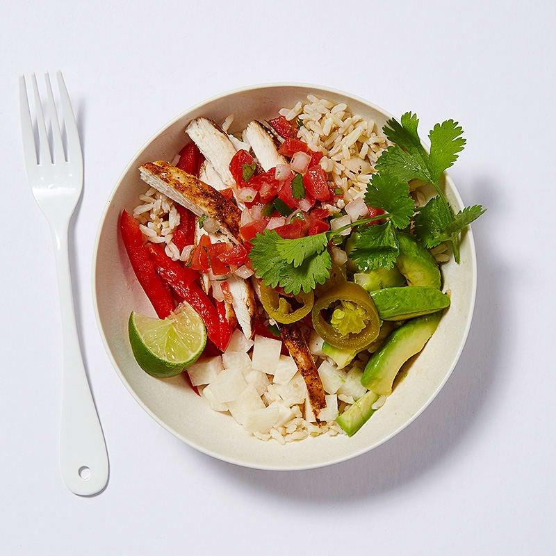 Photo of Chicken fajita rice bowl by WW