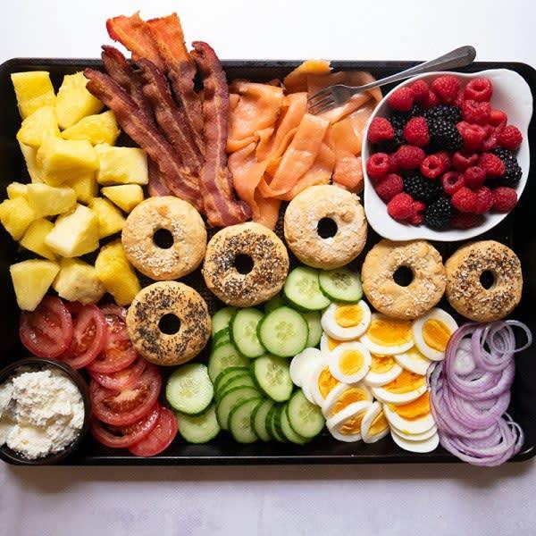 Photo of Easy Bagel Breakfast Board by WW