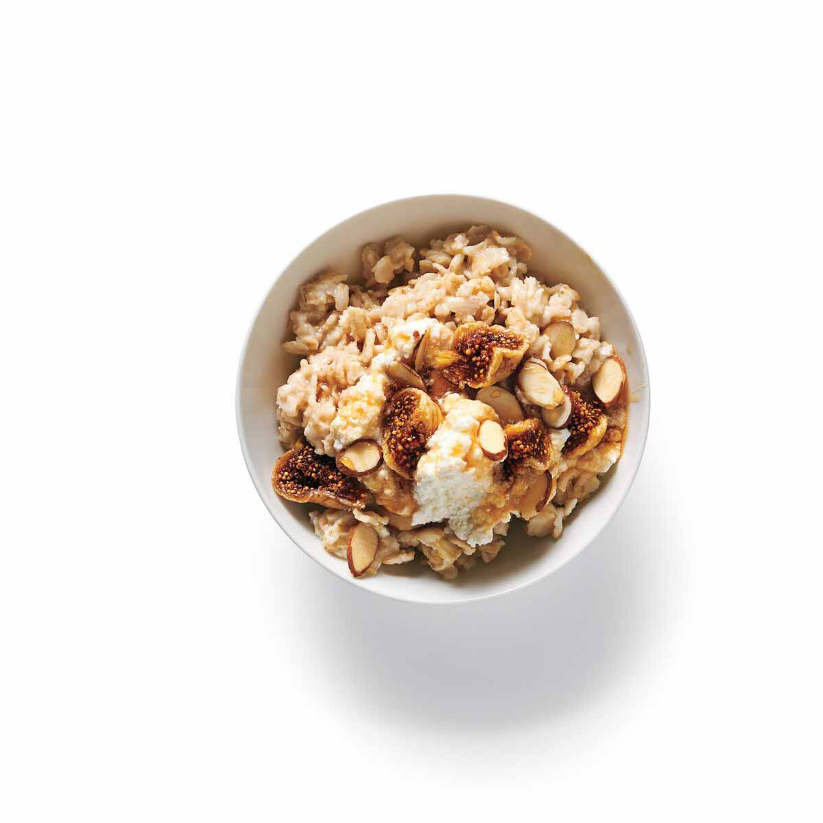 Photo of Fig, honey, and almond topping (for oatmeal) by WW
