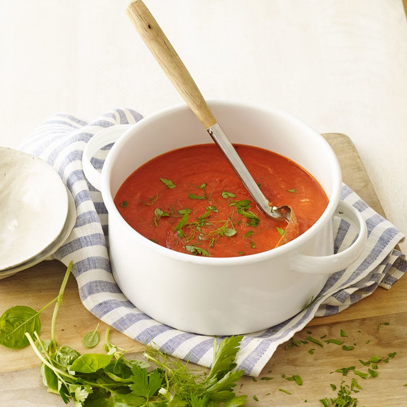 Photo of Italian roasted pepper and tomato bisque by WW