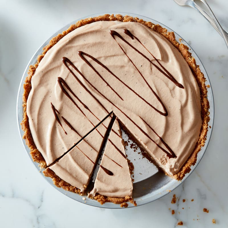 Photo of Frozen chocolate chip-peanut butter pie by WW